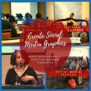 Make social media posts using Canva