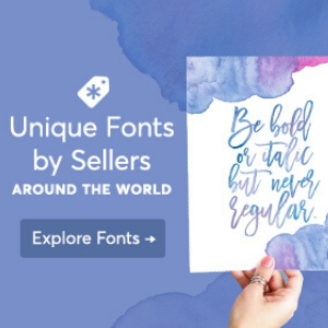 Buy Unique fonts from Creative Market