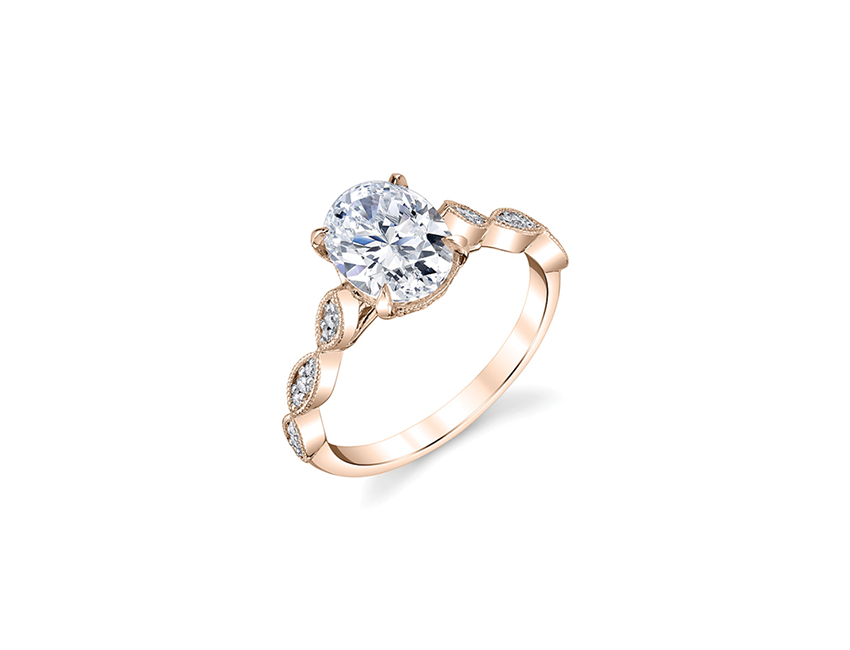 nature inspired engagement ring, sutra, the sutra, oval diamond, engagement ring