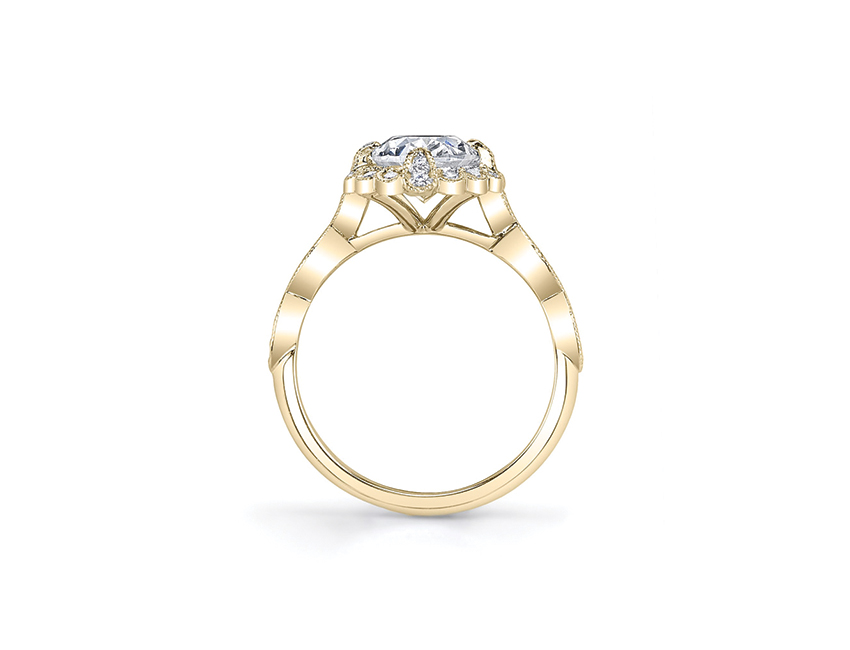 Explore the Altar Halo Ring on Scout Mandolin.