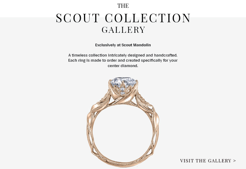 Scout Mandolin - Custom Engagement Rings & Fine Jewelry