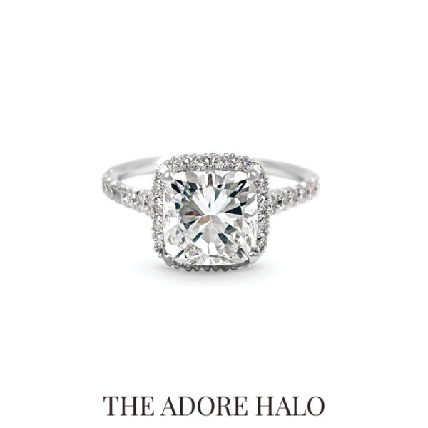 Explore the Adore Halo Ring on Scout Mandolin.