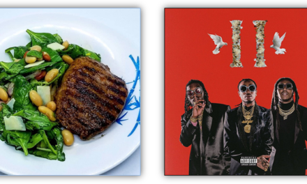 Migos new album Culture II [Explicit] and Smoky Spice-Rubbed Steak