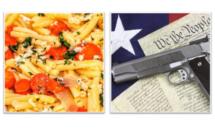 Recipe: Pan Roasted Carrot Pasta, Parsley Gun Control