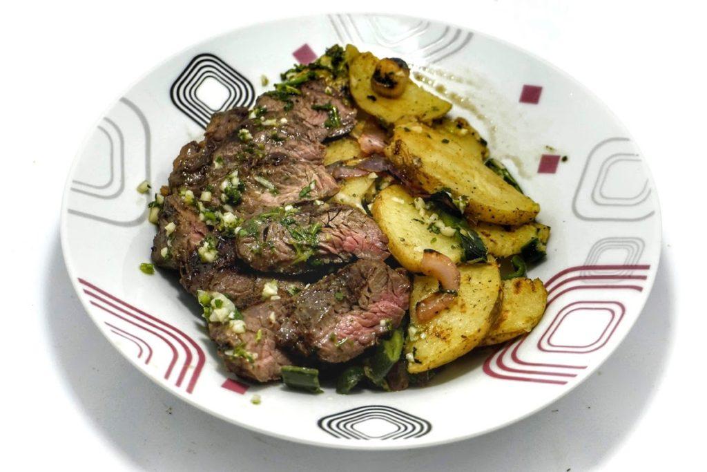 Hanger Steak & Chimichurri 1