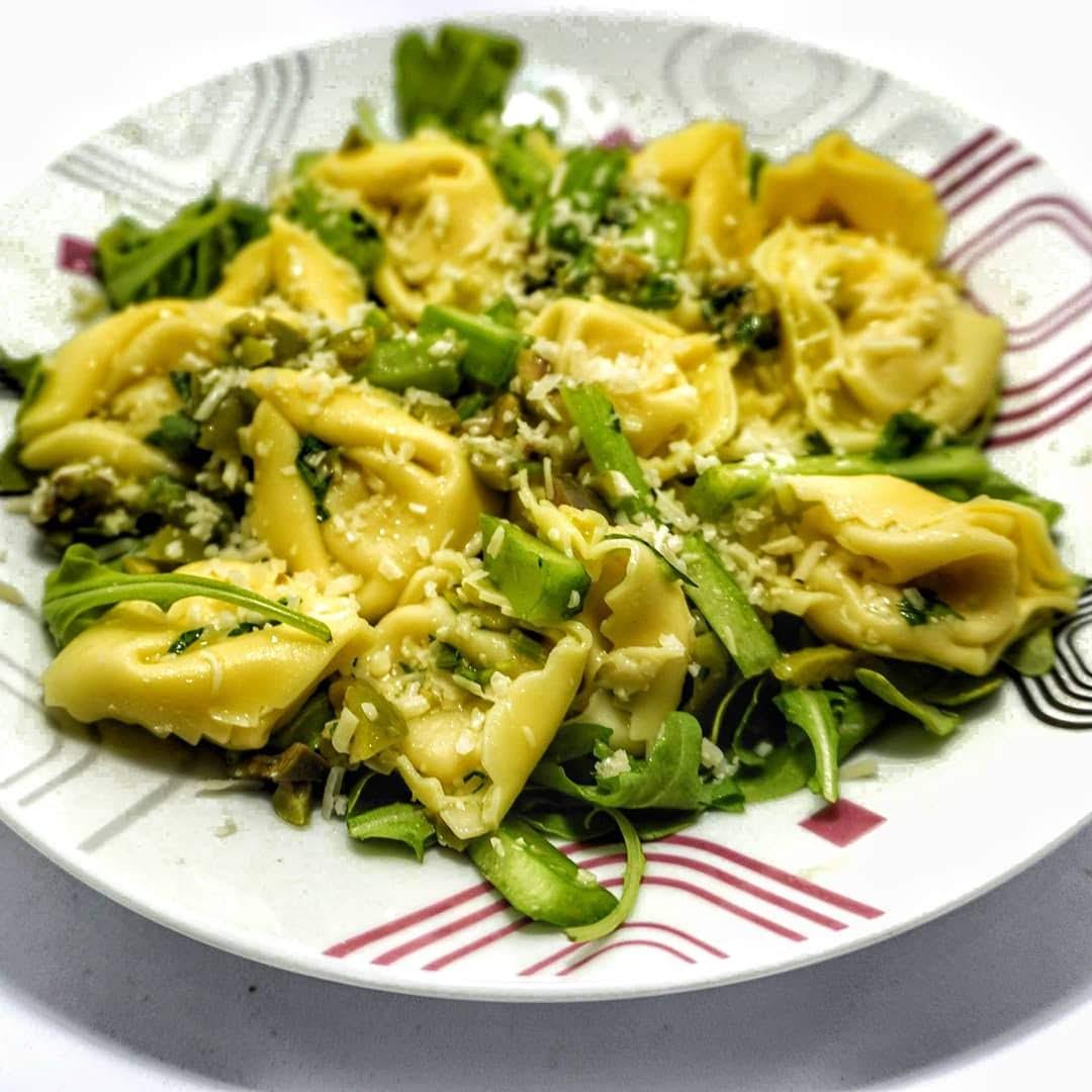 Healthy Italian Pasta Salad: Lemony Tortelloni Pasta Salad