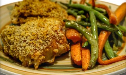 Simple Chicken Recipes One Pan Panko Mustard Chicken