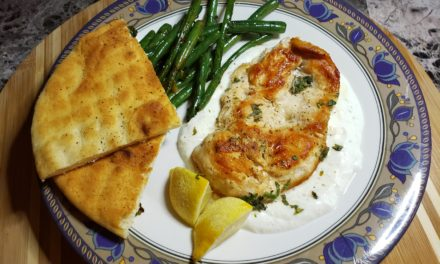 Lemon Herb Chicken Recipe with Garlicky Yogurt
