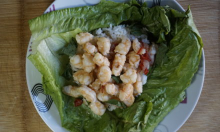 Thai Shrimp Lettuce Wrap Recipe
