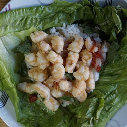 Thai Shrimp Lettuce Wrap Recipe 8