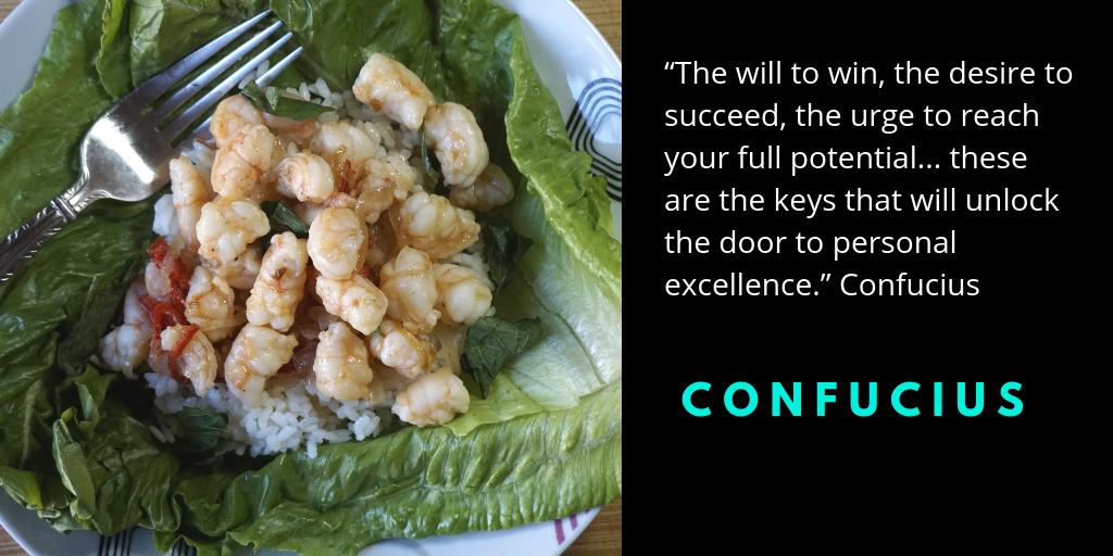 Thai Shrimp Lettuce Wrap Recipe Quote