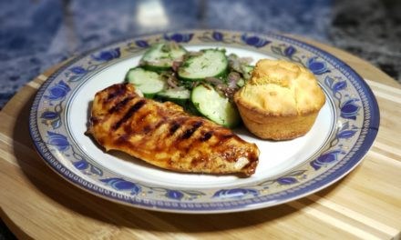 BBQ Chicken Recipe with Cornbread