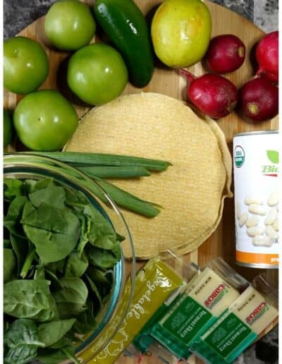 Salsa Verde Veggie Enchiladas 4