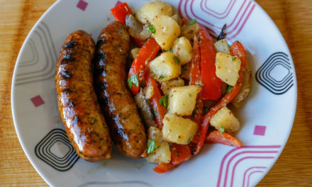 Spicy Andouille Sausage and Peppers Recipe