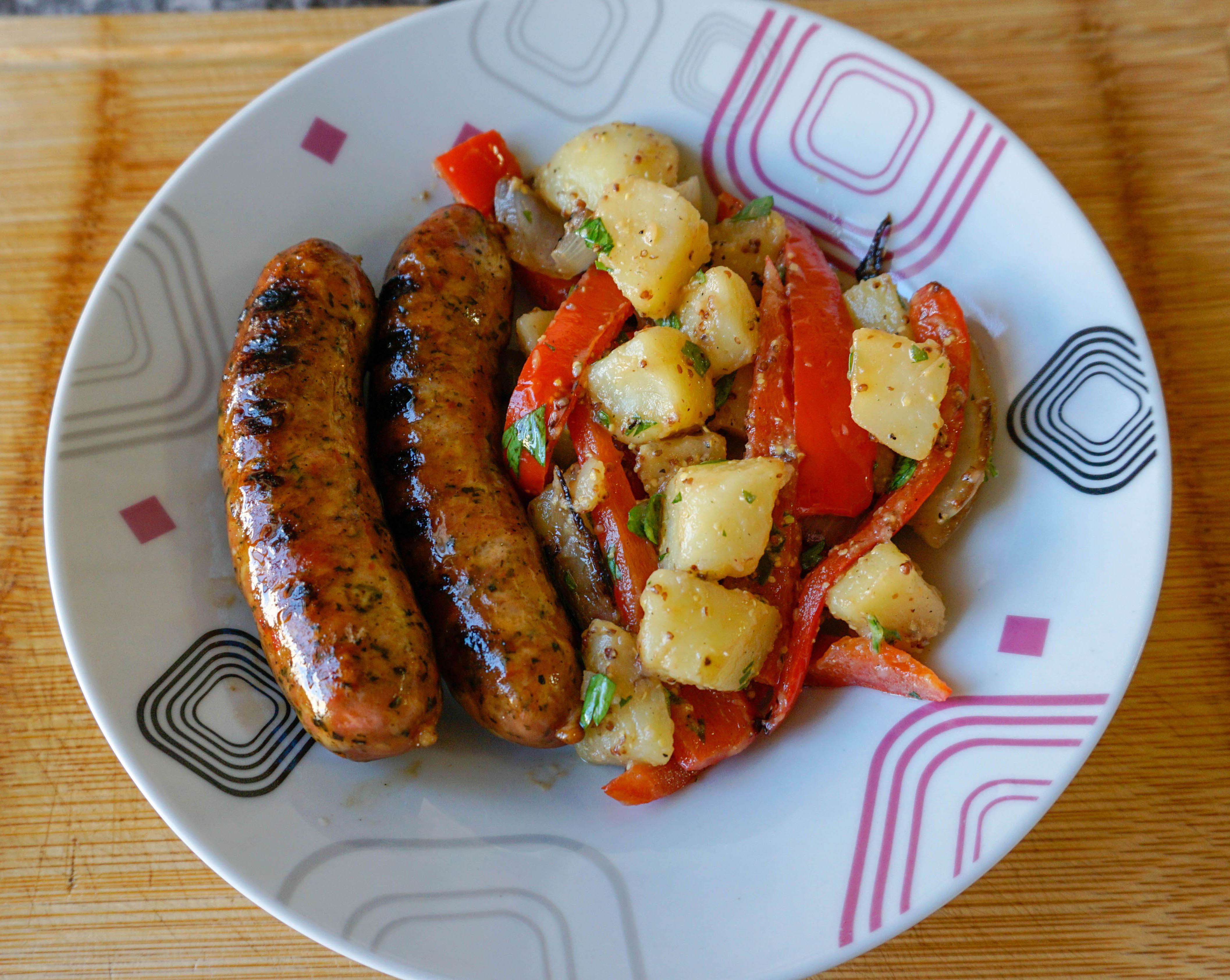 Spicy Andouille Sausages 5