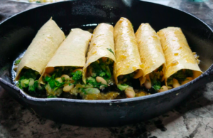 Salsa Verde Veggie Enchiladas recipe 5