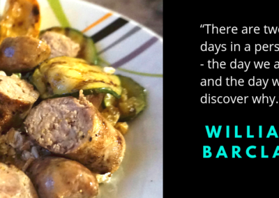 Sweet Italian Sausages and Zucchini quote