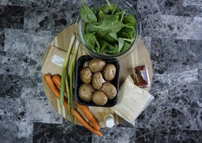 Veggie & Sushi Rice Bibimbap 9