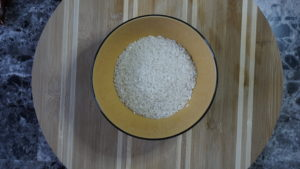 Veggie & Sushi Rice Bibimbap 1