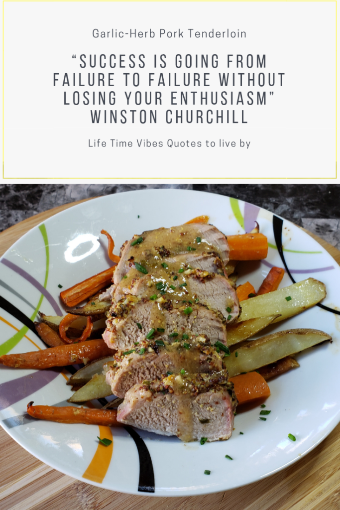 Garlic-Herb Pork Tenderloin quote