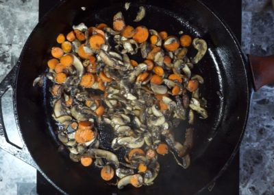 Veggie & Sushi Rice Bibimbap 3