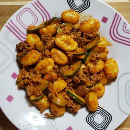 Beef & Zucchini Gnocchi 5