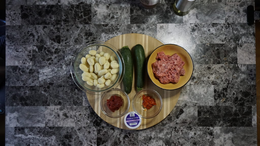 Beef & Zucchini Gnocchi