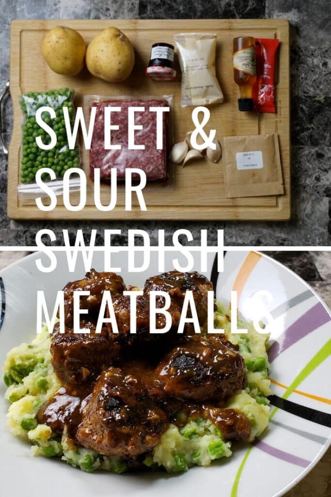 Sweet & Sour Swedish Meatballs