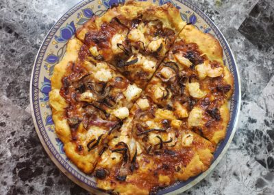 BBQ Shrimp Pizza