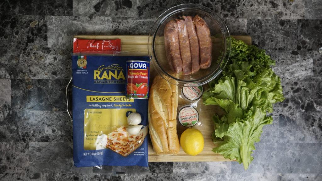 Sausage Bolognese 3