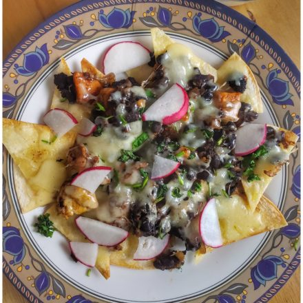 Black Bean Nachos 5