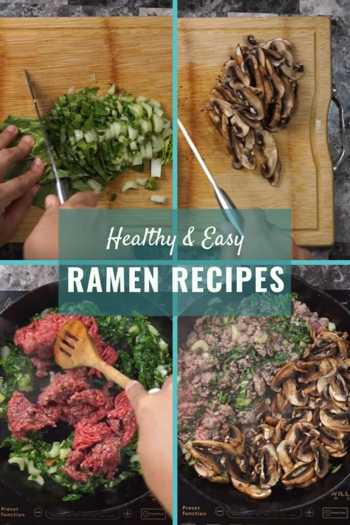 Mushroom & Spinach Miso Ramen Recipes 1