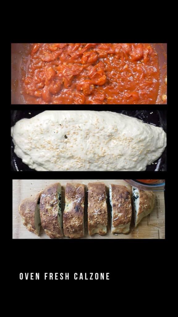 Classic Italian Cheese Calzone (2)