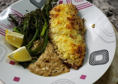 Crispy Lemon-Parmesan Chicken 4