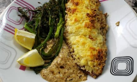 Crispy Lemon-Parmesan Chicken Recipe