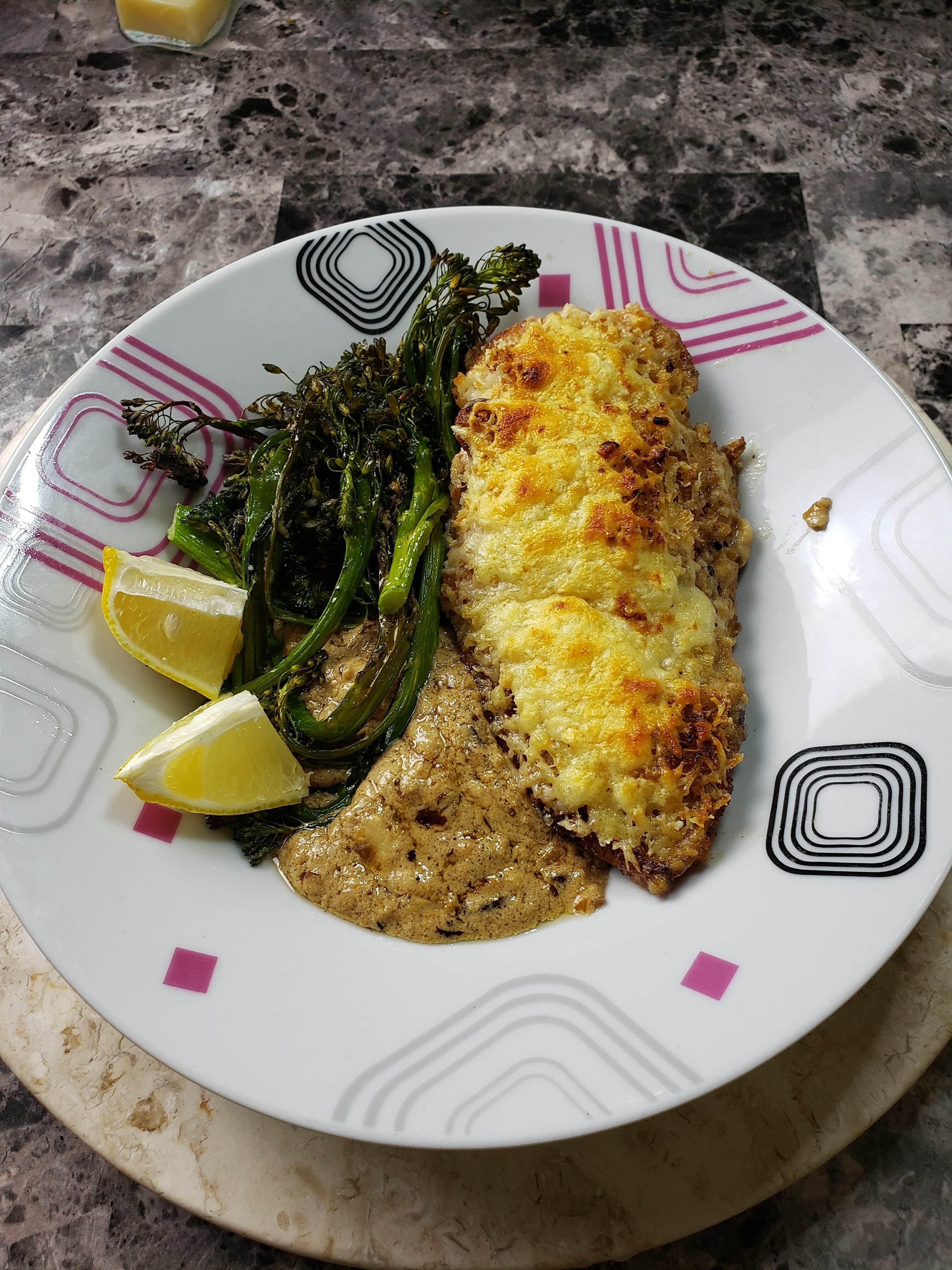 Crispy Lemon-Parmesan Chicken Recipe