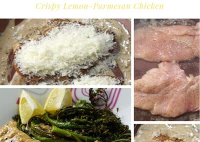 Crispy Lemon-Parmesan Chicken 2
