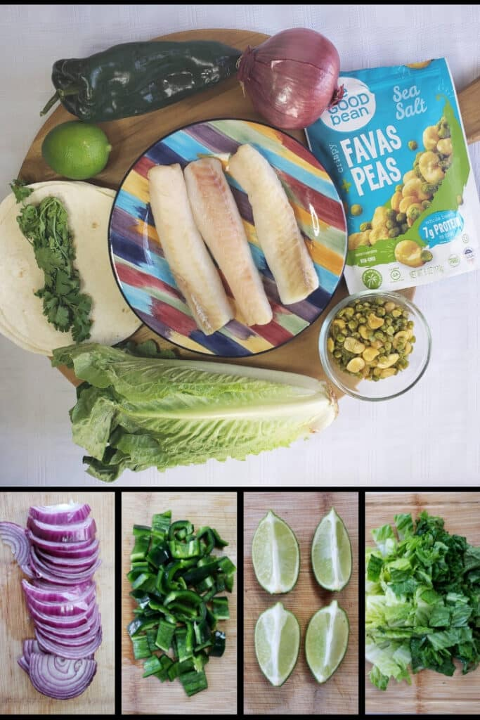 Chile Spiced Fish Tacos