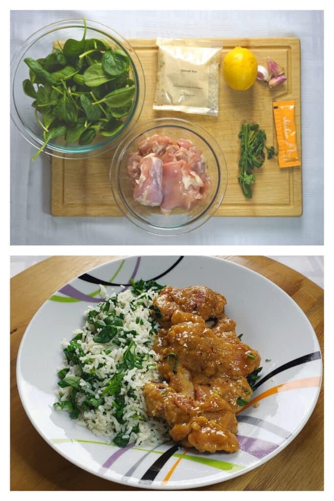 Lemon Garlic boneless skinless chicken thighs recipe keto friendly