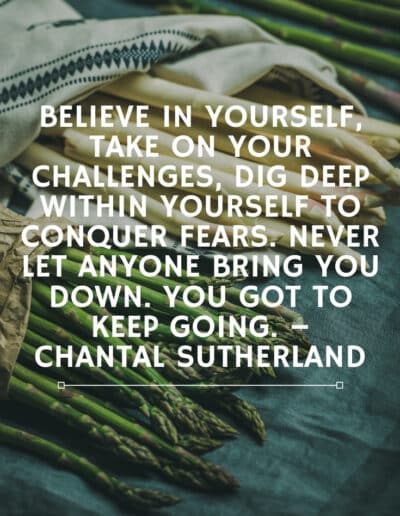 chantal sutherland quotes