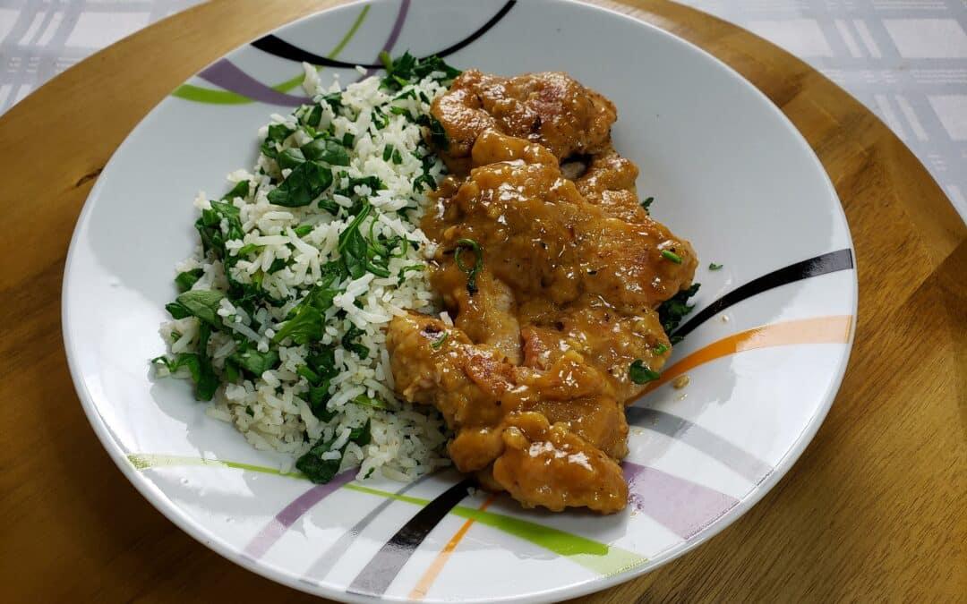 Chicken Thighs Lemon Garlic recipe keto friendly