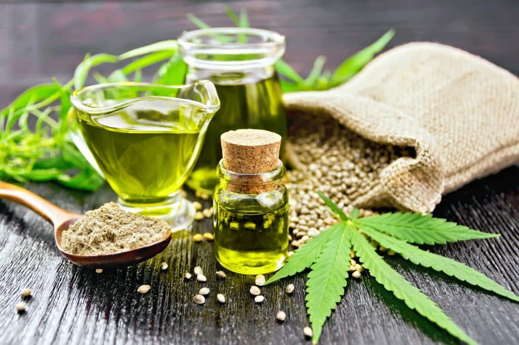 Tip for cooking with CBD oil hemp seeds