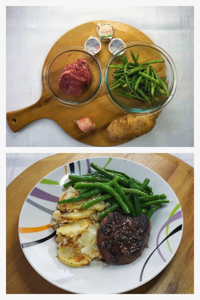 Seared Steak & Green Beans