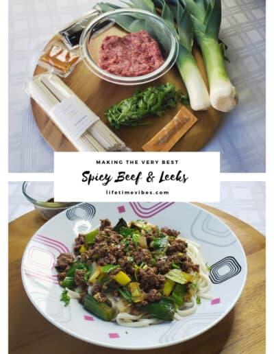 Spicy Beef & Leeks