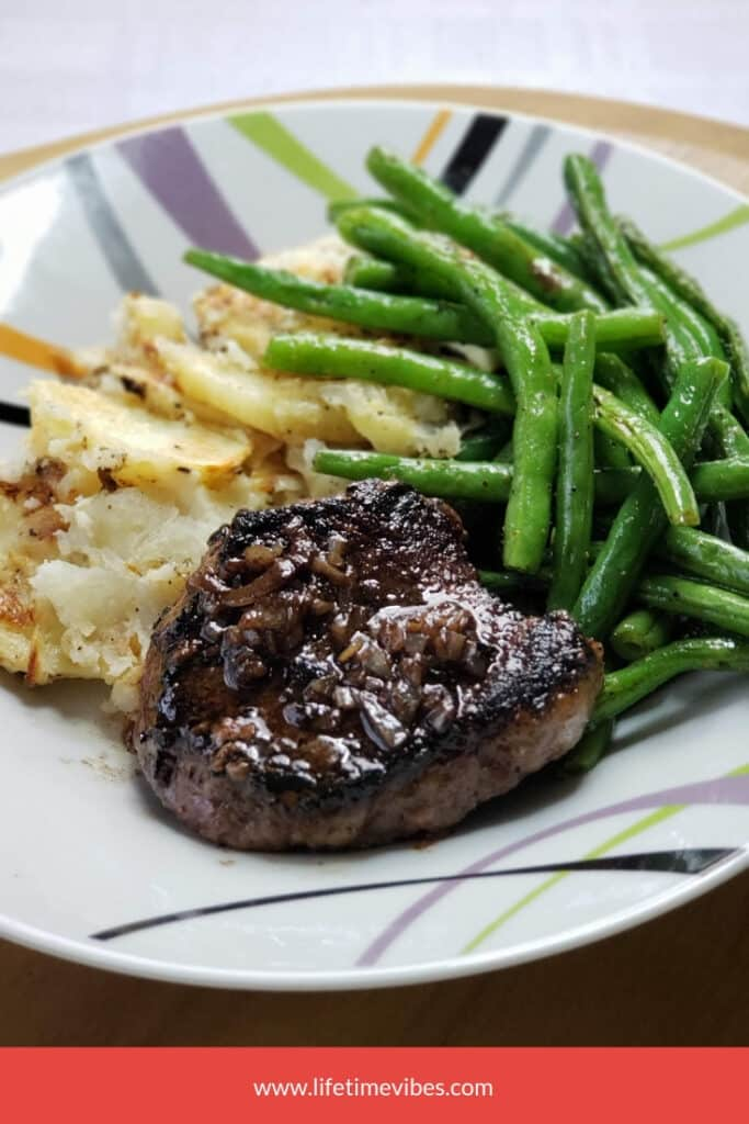 Seared Steak & Green Beans