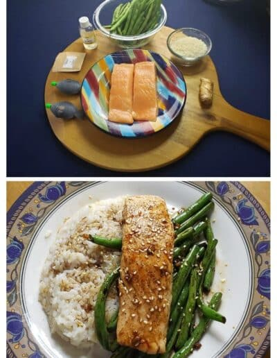 Teriyaki-Glazed Salmon and Tips for cooking fish 4