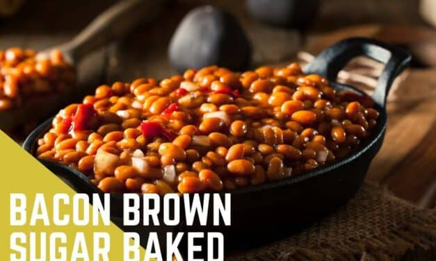 Baked Beans with Bacon and Brown Sugar