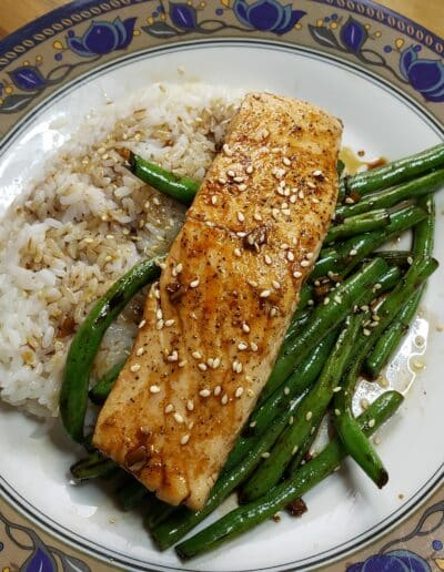 Teriyaki-Glazed Salmon