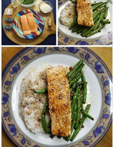 Teriyaki-Glazed Salmon and Tips for cooking fish 1