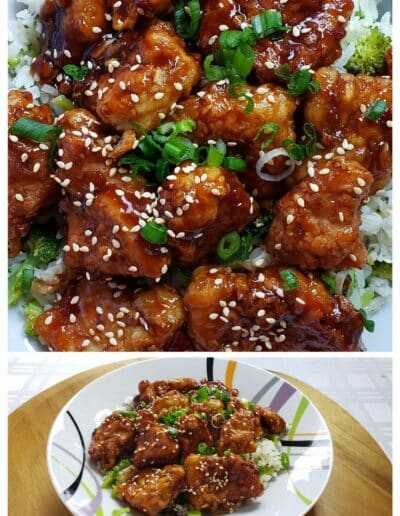 Sesame Chicken and Tips for frying chicken 1